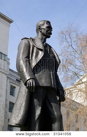 Lord Trenchard statue, Whitehall, London
