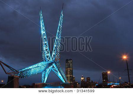Oklahoma City Skydance Brücke