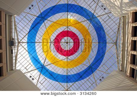 Glass Geometric Ceiling