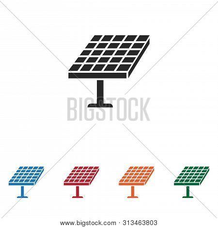Solar Panel Icon Isolated On White Background. Solar Panel Icon In Trendy Design Style. Solar Panel