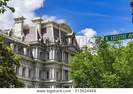 Eisenhower Old Executive Office Buidling Presidential Park Washington Dc