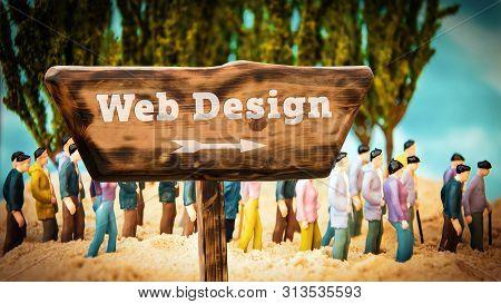 Street Sign To Web Design