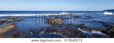 Coastal View At Merewether In Newcastle, Nsw, Australia