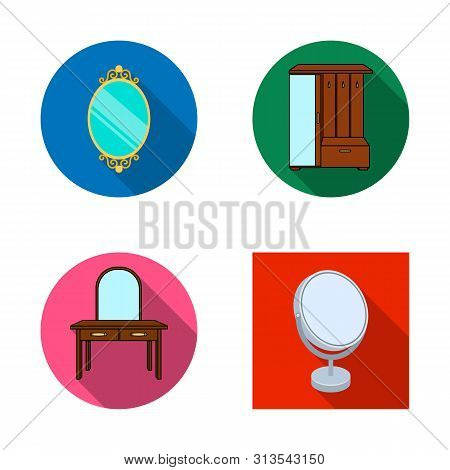 Bitmap Illustration Of And Imagery Logo. Collection Of And Reflection Stock Bitmap Illustration.