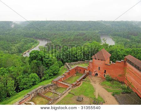 Ruins Medieval Castle
