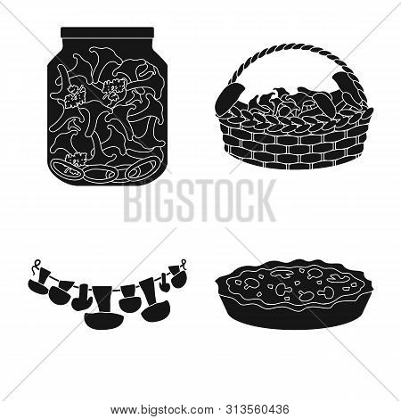 Isolated Object Of Variety And Ingredient Icon. Collection Of Variety And Food Stock Symbol For Web.