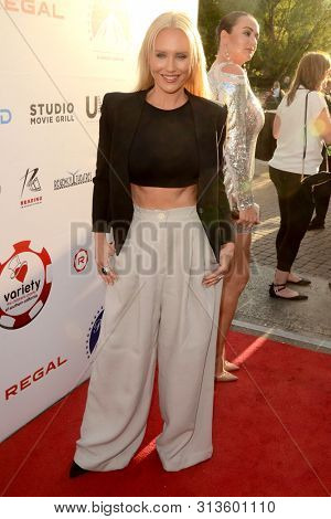 LOS ANGELES - JUL 24:  Nicky Whelan at the 9th Annual Variety Charity Poker & Casino Night at the Paramount Studios on July 24, 2019 in Los Angeles, CA