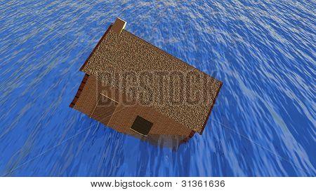 mortgage problem concept