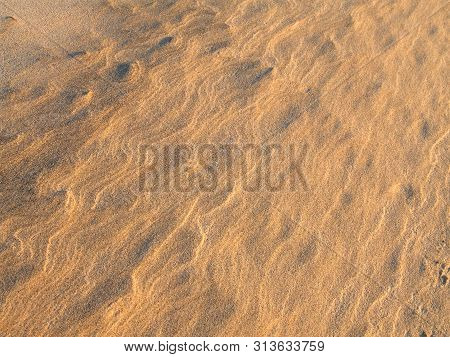 Golden Beach Sand, Background Pattern Texture. Beach Sand Background. Sand Texture. Brown Sand. Back