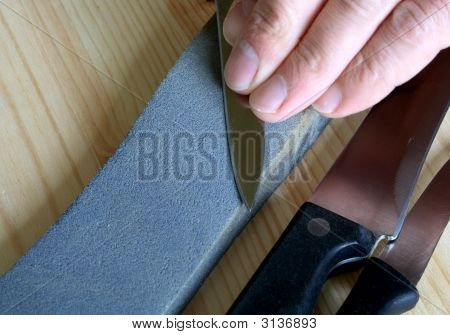 Sharpening Of Kitchen Knives