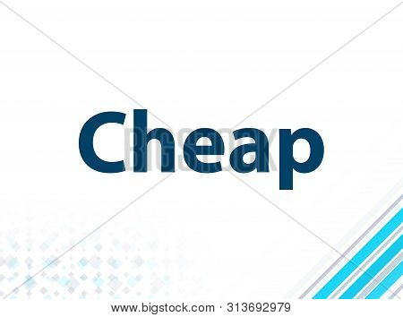 Cheap Isolated On Modern Flat Design Blue Abstract Background