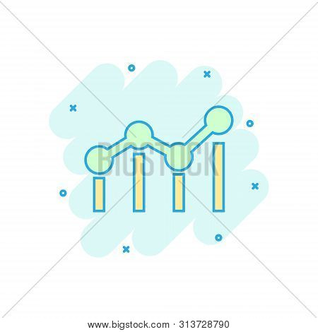 Benchmark Measure Icon In Comic Style. Dashboard Rating Vector Cartoon Illustration On White Isolate