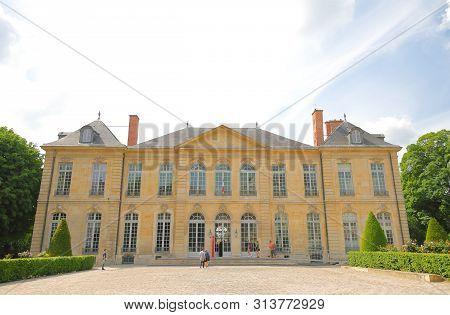 Paris France - May 22, 2019: Rodin Museum Paris France
