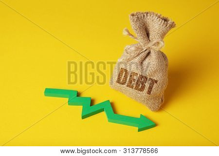 Taxes And Interest On Debt Payments. Overdue Payments, Penalties. Taxes And Interest On Debt Payment