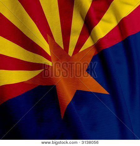 Arizona Flag Closeup