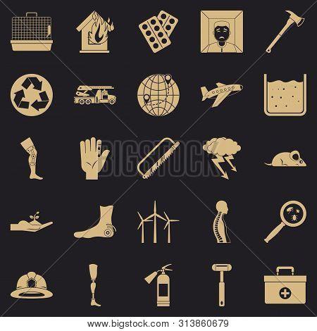 Facilitation Icons Set. Simple Set Of 25 Facilitation Icons For Web For Any Design