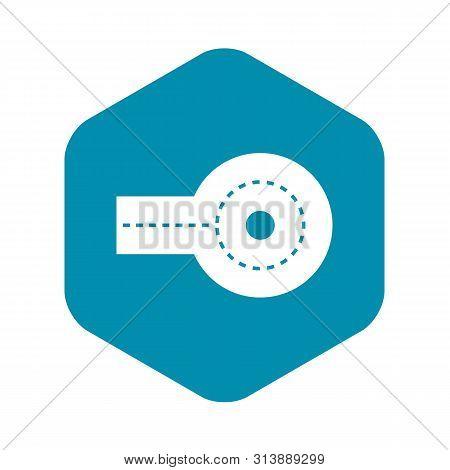 Circular Impasse Icon. Simple Illustration Of Circular Impasse Icon For Web