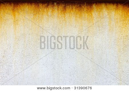 Rusty and grungy dripping texture background pattern poster