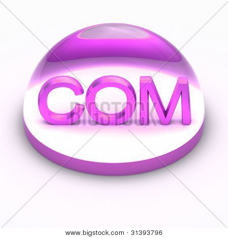 3D Style file format icon - COM