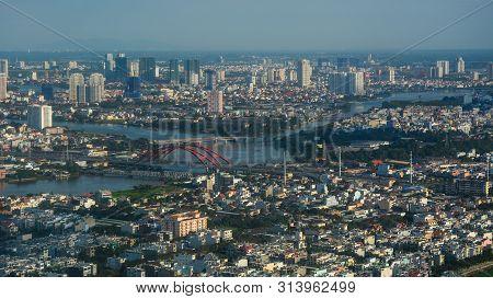 Saigon, Vietnam - Nov 10, 2015. Aerial View Of Saigon (ho Chi Minh), Vietnam. Saigon Is The Financia