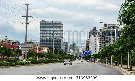 Street Of Nanning, China