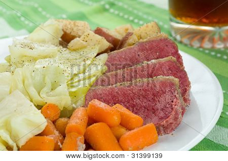 Corned Beef Cabbage
