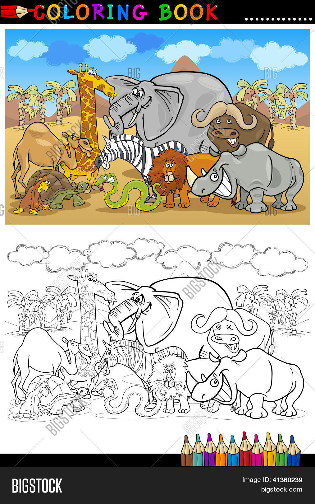 Vector Y Foto Dibujos Animados De Prueba Gratis Bigstock