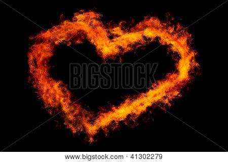 Feuer-Herz