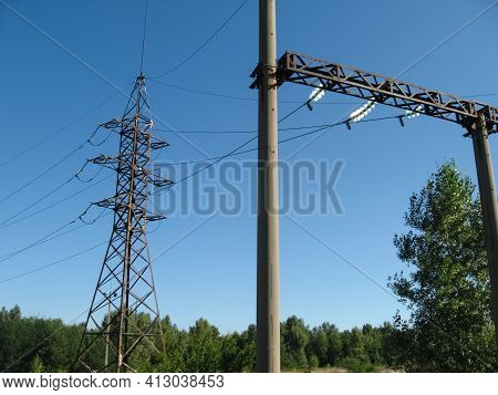 High-voltage Power Lines High-voltage Power Lines. High-voltage Power Lines