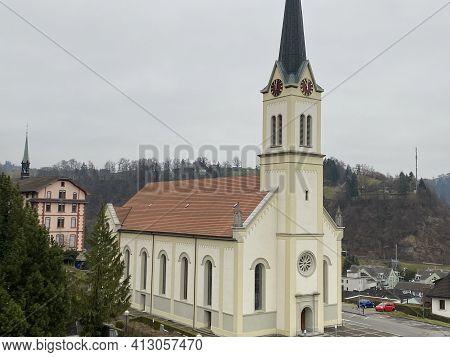 Catholic Church Of St. Andreas, Wolhusen (katholische Kirche St. Andreas Wolhusen) - Switzerland (sc