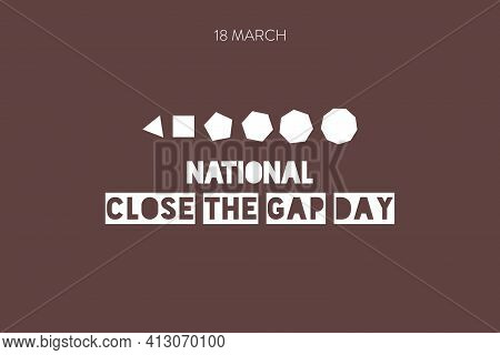 National Close The Gap Day Stock Images. Health Equity Of Australia's Indigenous People Poster. Boom
