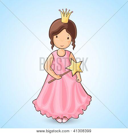 Mädchen Prinzessin