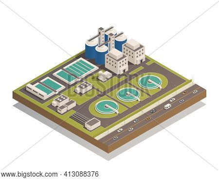 Wastewater Sewage  And Water Cleaning Purification Treatment Plant With Pumping Filtration Separator