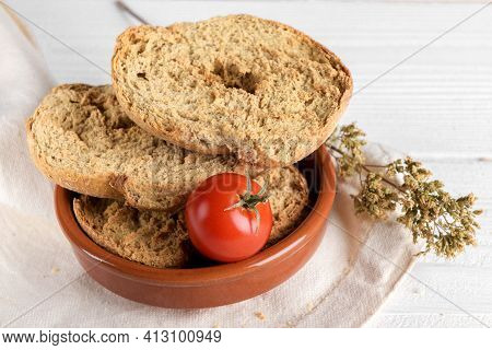 Classical Apulian Friselle Made In Puglia, Salento By Wholegrain Weat