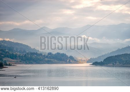 The River Basin System Colibita Lake - Bistrita Ardeleana River Is Located In The Eastern Part Of Th