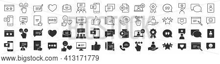 Feedback Excellent Icons Collection In Two Different Styles