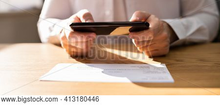 Remote Check Deposit Using Mobile Remote. Online Capture