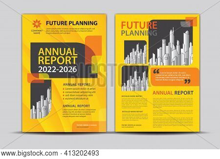 Annual Report Cover Design, Brochure Flyer Template, Business Cover Background, Brochure Layout, Cov