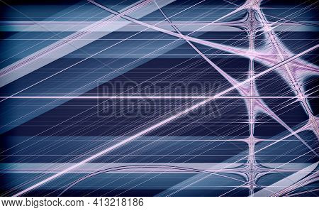 Abstract Background In Geometric Style In The Form Of Bright And Dark Stripes And Lines.