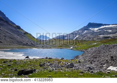 Long Lake, Lac Long, In Vanoise National Park, French Alps