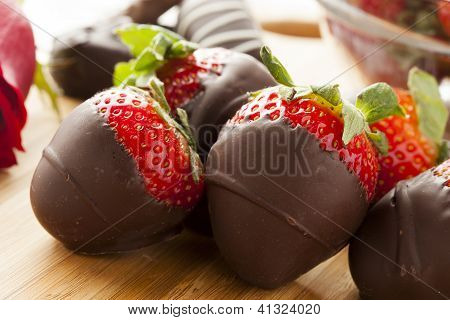 Gourmet Chocolate Covered Strawberries