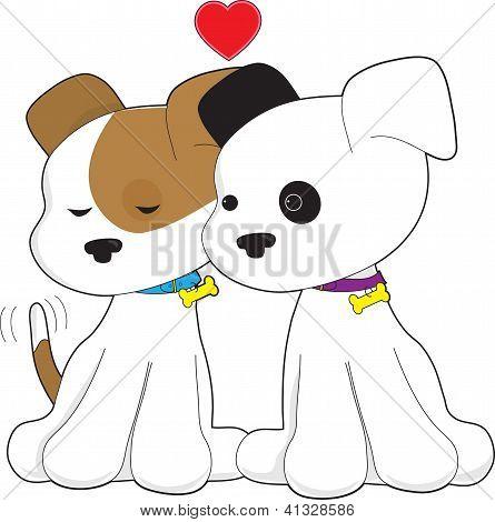 Puppy Couple