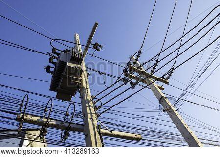Transformer Transmission Electricity Convert High Voltage To Low Voltage, Distribution Transformer R
