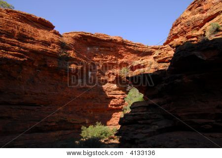 Canyon Shadow And Light