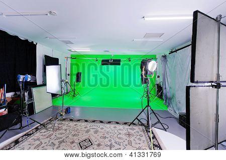 Estudio de la pantalla verde