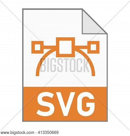 Modern Flat Design Of Svg Illustration File Icon For Web
