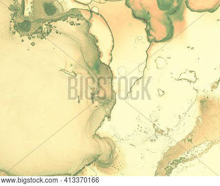 Fluid Art. Abstract Marble Wallpaper. Alcohol Ink Painting. Liquid Effect. Fluid Art. Modern Flow Il
