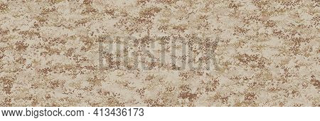 Desert Digital Camouflage (marine Corps), Highly Sophisticated Camouflage Pattern To Destroy Visibil