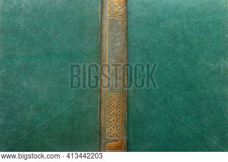 Hardcover Book Cover Close Up Template Mockup