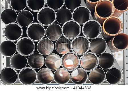 Building pipes